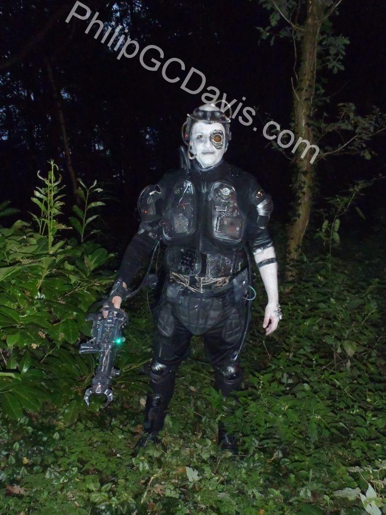 Philip GC Davis as Borg Drone