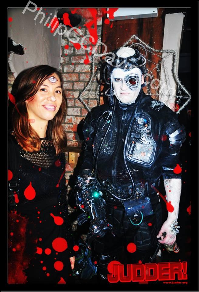 do you need a borg drone for your themed event contact me for details this costume has genuinely caused small children to spontaneously burst into tears - Borg Halloween Costume