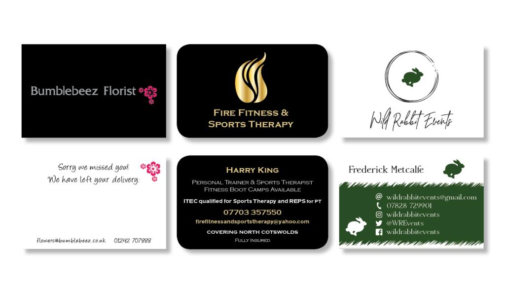 Business cards created by Philip GC Davis www.riverglade.guru