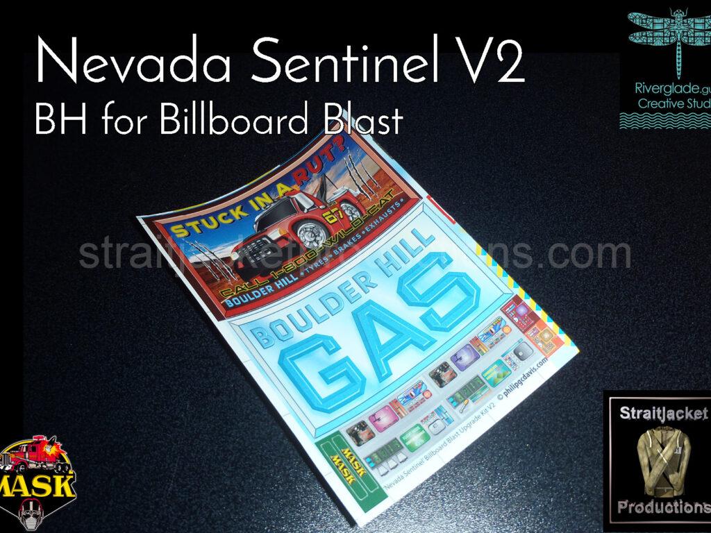 MASK Billboard Blast Nevada Sentinel V2