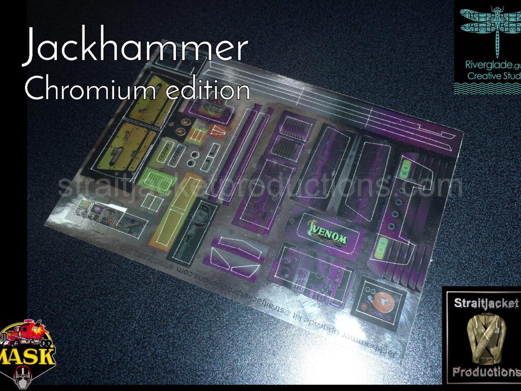 MASK M.A.S.K. VENOM Jackhammer Ultimate Upgrade Kit