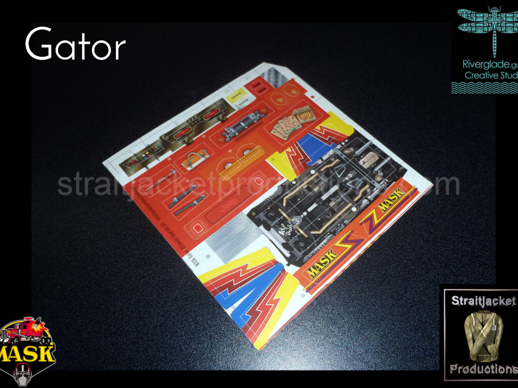 MASK M.A.S.K. Gator Ultimate Upgrade Kit